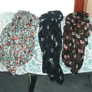 Accessories - Owl infinity scarves